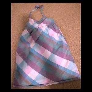 Excellent condition girls halter dress